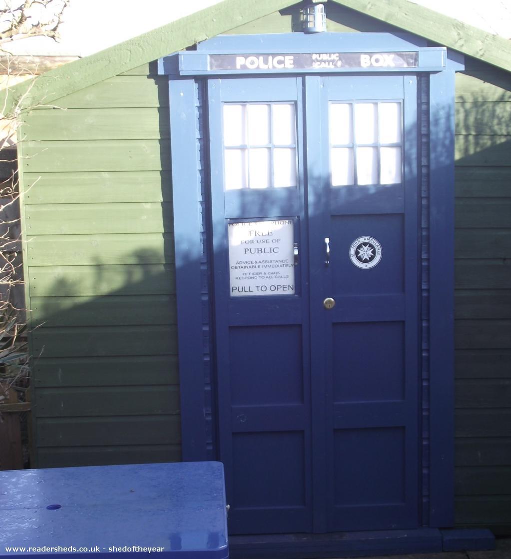 the Parr TARDIS - Daniel Conner Parr - 25 argyle avenue