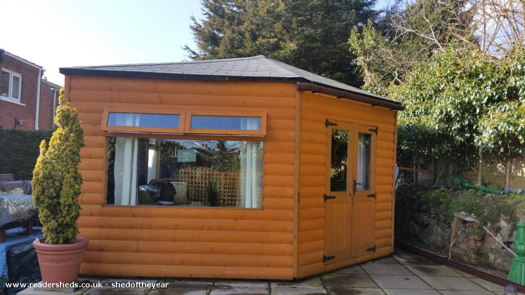 Photo of Moe's Retreat, entry to Shed of the year-side view and entrance