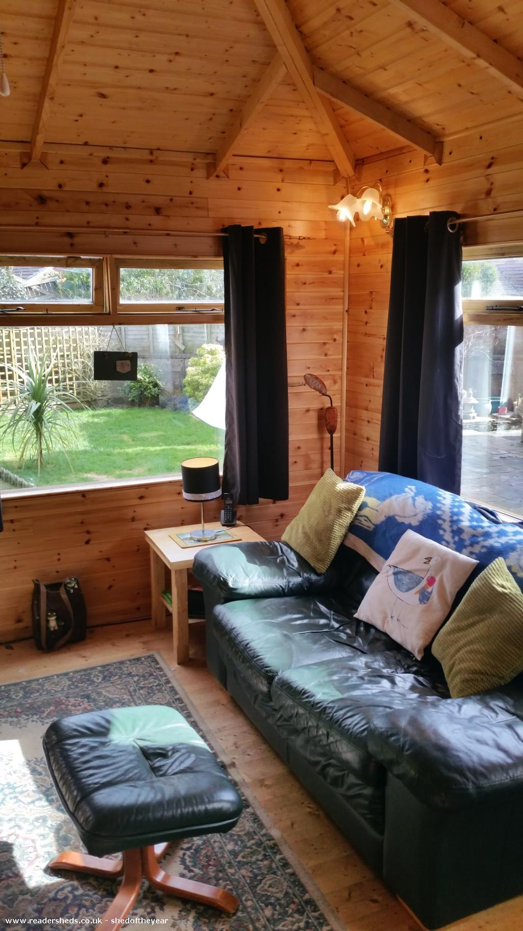 Photo of Moe's Retreat, entry to Shed of the year-somewhere to rest