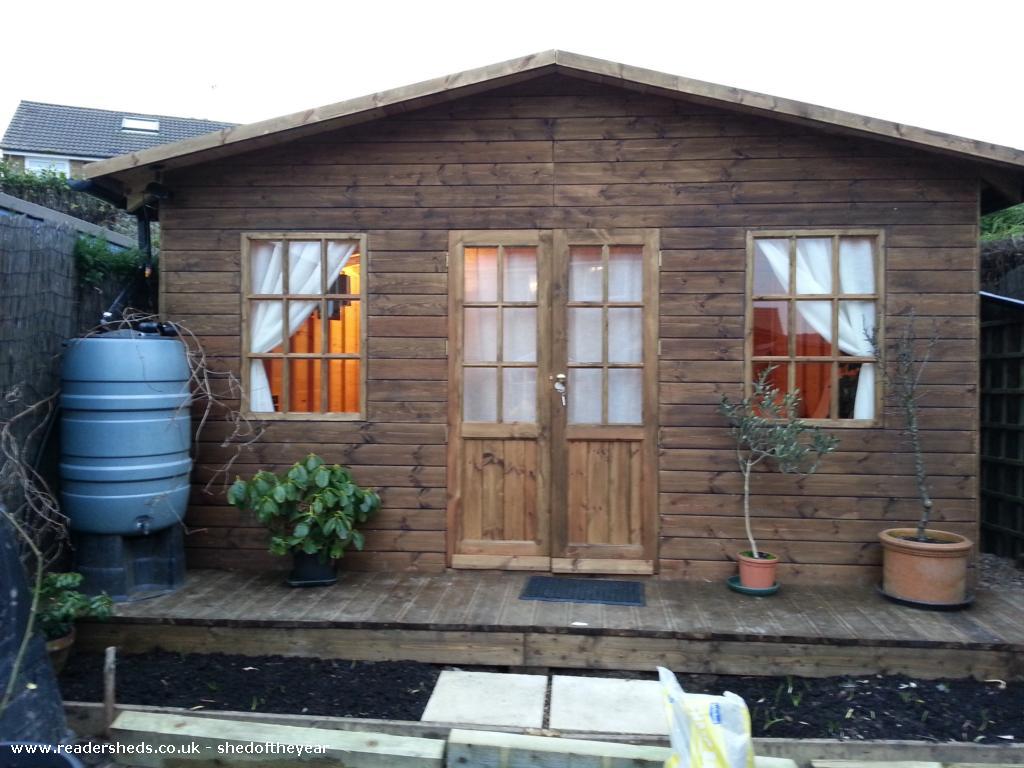 Stewie - Derek Taylor - rear garden