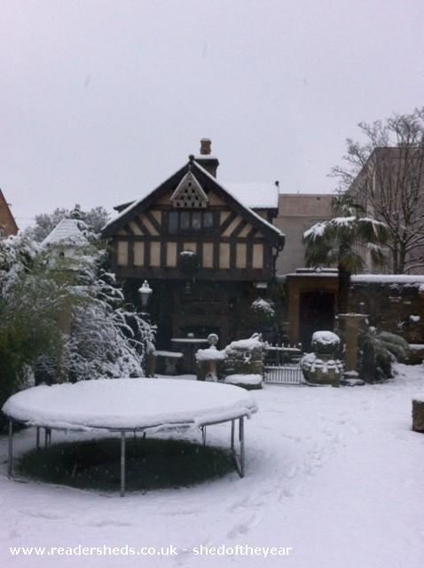 Tudor Folly  - Paul Whitehead - garden