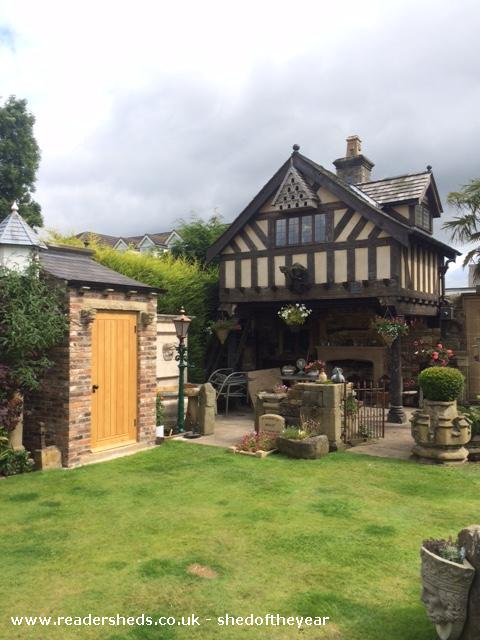 Tudor Folly Workshop Studio From Garden Owned By Paul