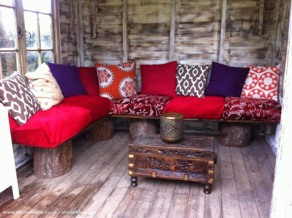 My Morrocan Hideaway - Sue Bray - Garden