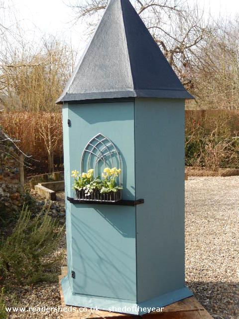 CHATEAU SHED - ROGER & HILARY - GARDEN