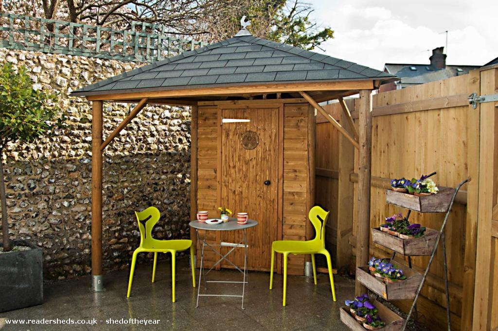 Triangle Shed - Martin Pinner - Back yard