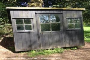 Bernard Shaw's Writing Hut - Sue Morgan - At the bottom of garden