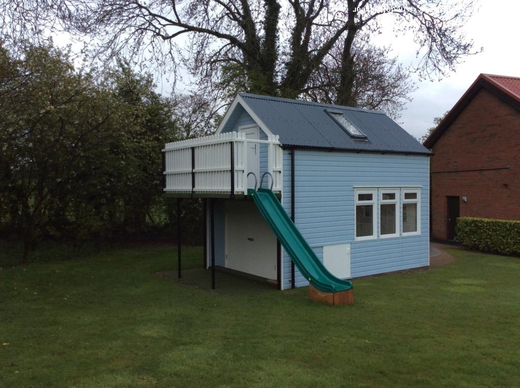 Photo of Blue Bell Cottage, entry to Shed of the year-Rear view