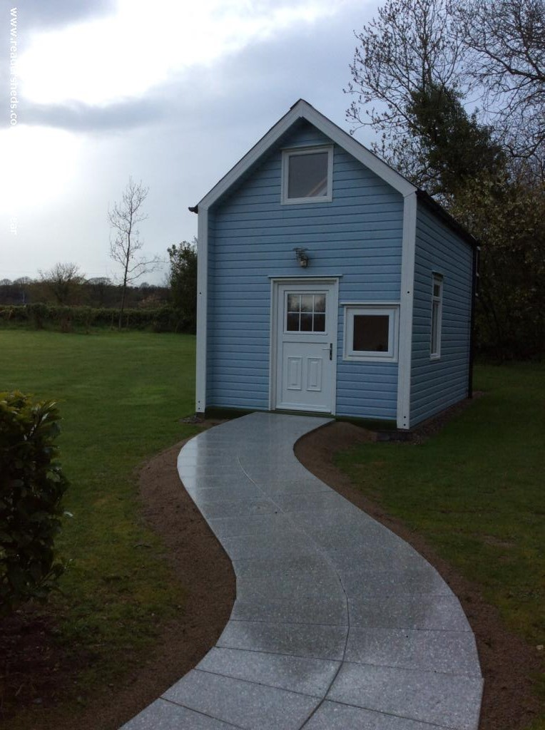 Photo of Blue Bell Cottage, entry to Shed of the year-Front
