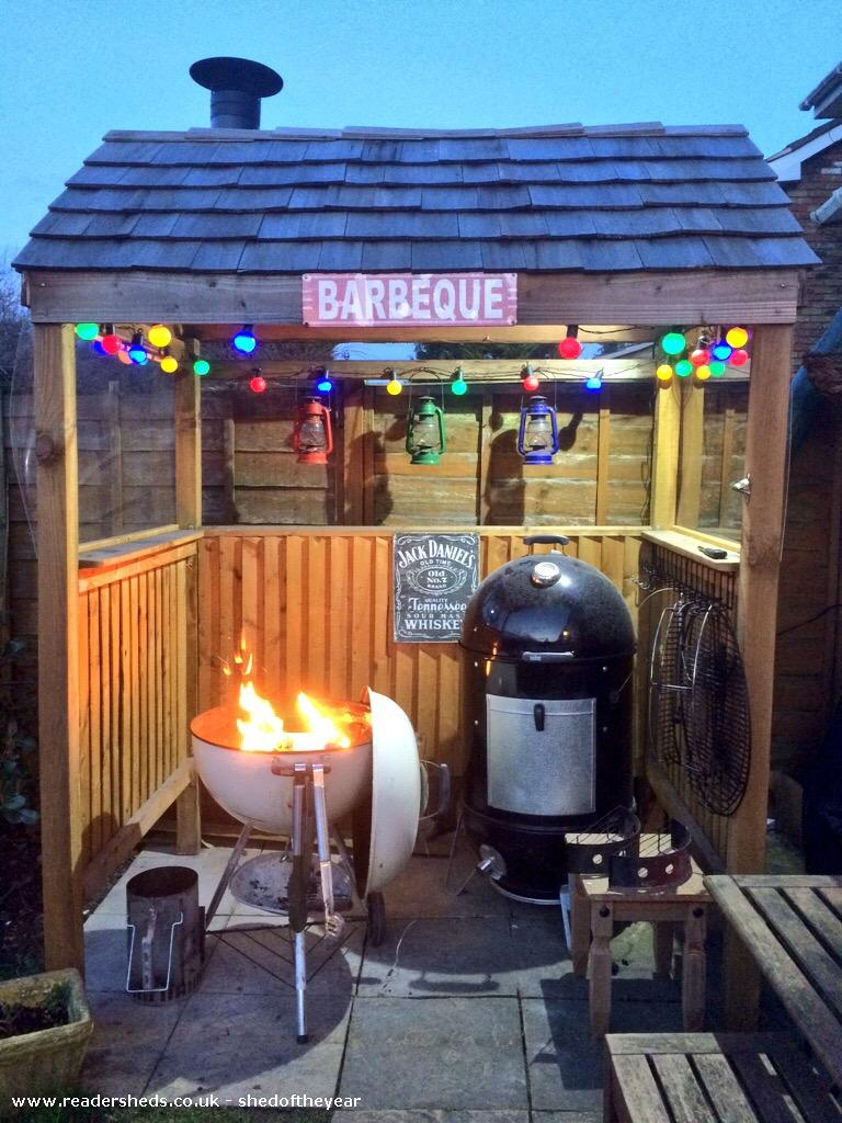 Photo of BBQ Shack, entry to Shed of the year-In use