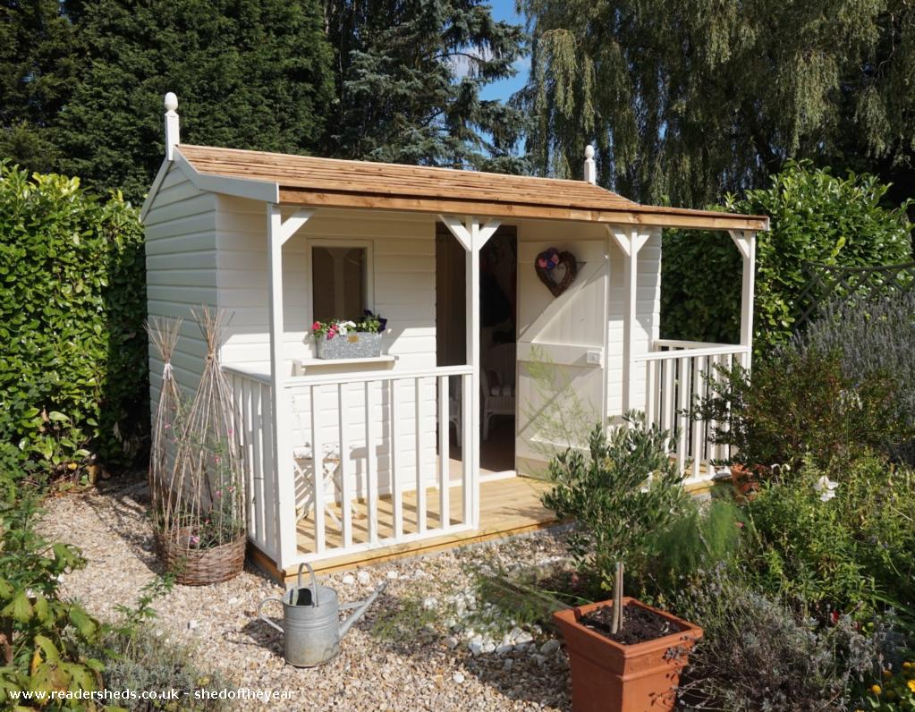Verandah Shed Workshop Studio From Lincolnshire Owned By