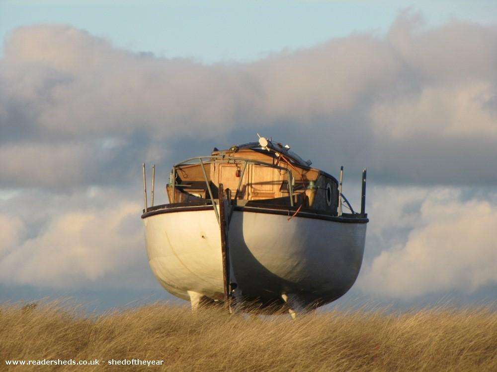 Photo of Le bateau de noel, entry to Shed of the year