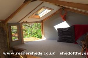 Craigie Tree Lodge - David Stevenson - Front garden