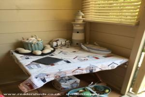 The beach hut  - Amanda Tonecek - Garden