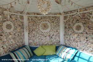 The Sea Shell Retreat - Mrs Kathleen Stratton - top of terraced garden