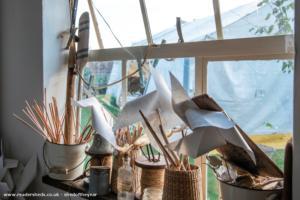 Dottyfield Workshop - Susannah Bramall - In the garden