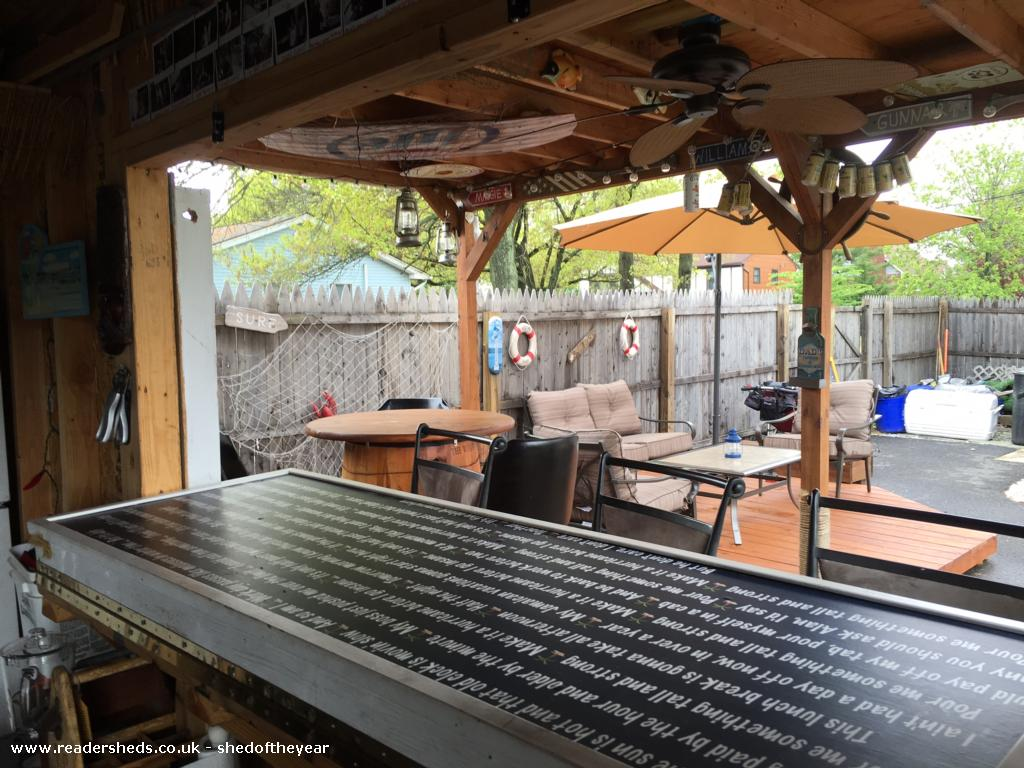 Photo of MargaritaGilk, entry to Shed of the year-Piano Hinge and Decor