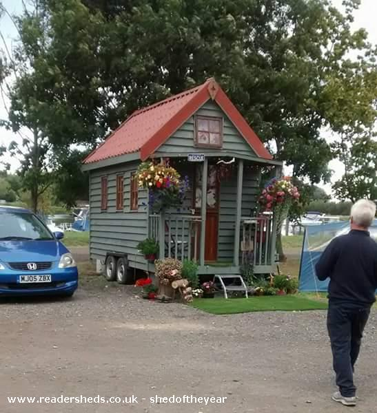 Photo of Tiny 1, entry to Shed of the year-front view