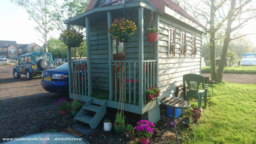 Photo of Tiny 1, entry to Shed of the year-side view