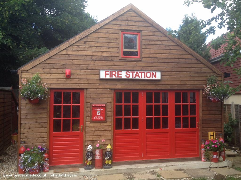 Photo of Engine House, entry to Shed of the year-Front View