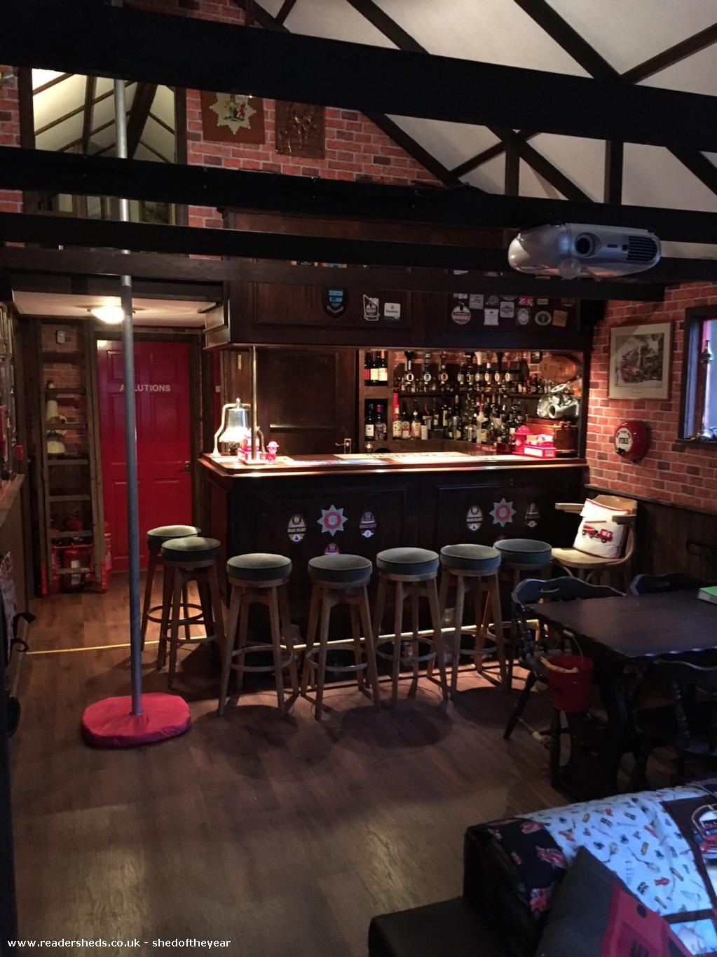 Photo of Engine House, entry to Shed of the year-Bar Area