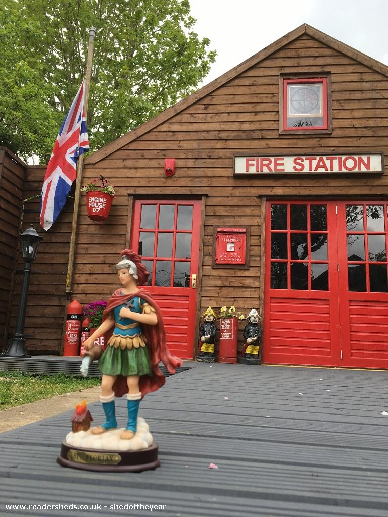 Photo of Engine House, entry to Shed of the year