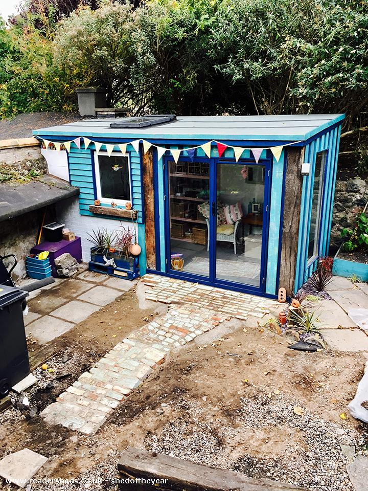 Photo of Susan's Funky Workshop, entry to Shed of the year-Workshop - Front