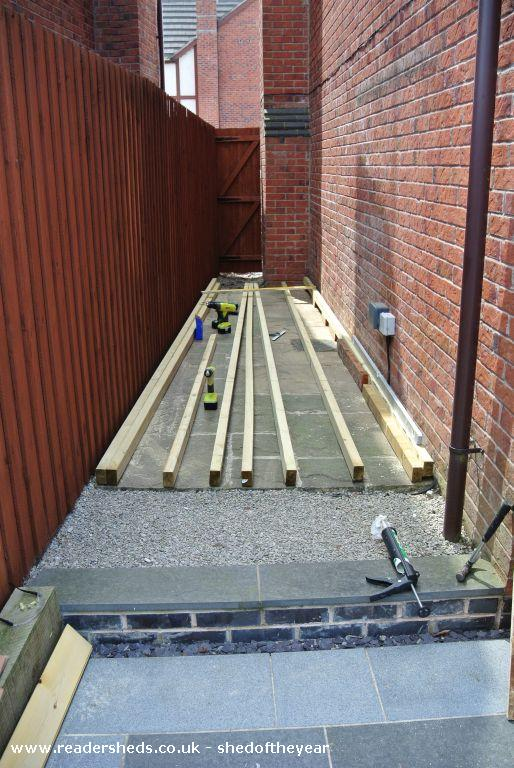 Photo of The Velo Bar, entry to Shed of the year-Shed Base
