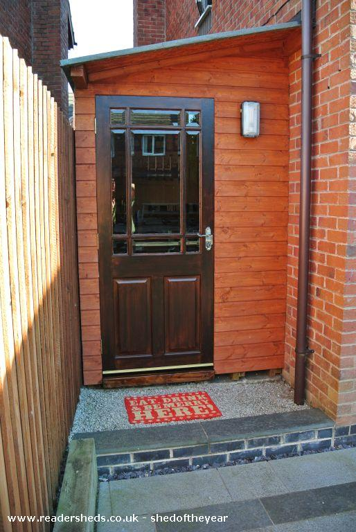 Photo of The Velo Bar, entry to Shed of the year