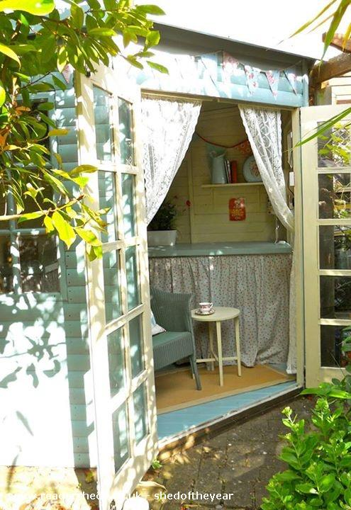 Photo of Shedquarters, entry to Shed of the year-View from garden