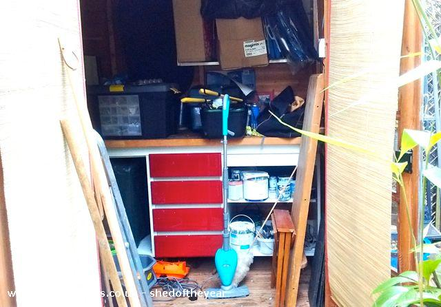 Photo of Shedquarters, entry to Shed of the year-View before