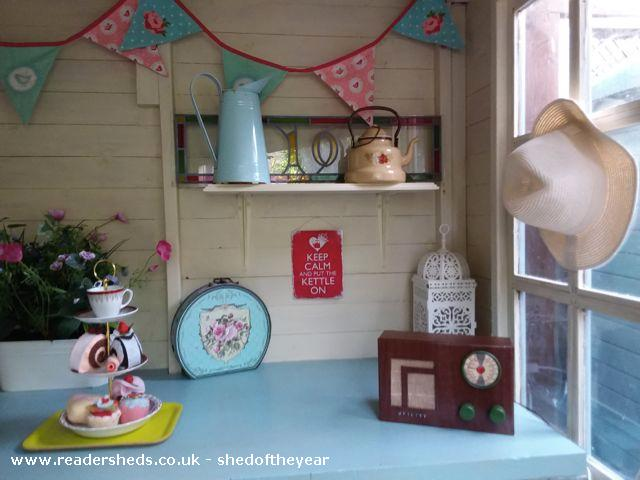 Photo of Shedquarters, entry to Shed of the year-Inside