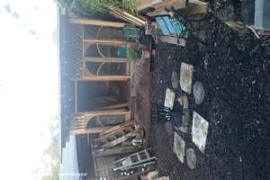 Pallet Hobbit House - Julie Twydell - Back Garden