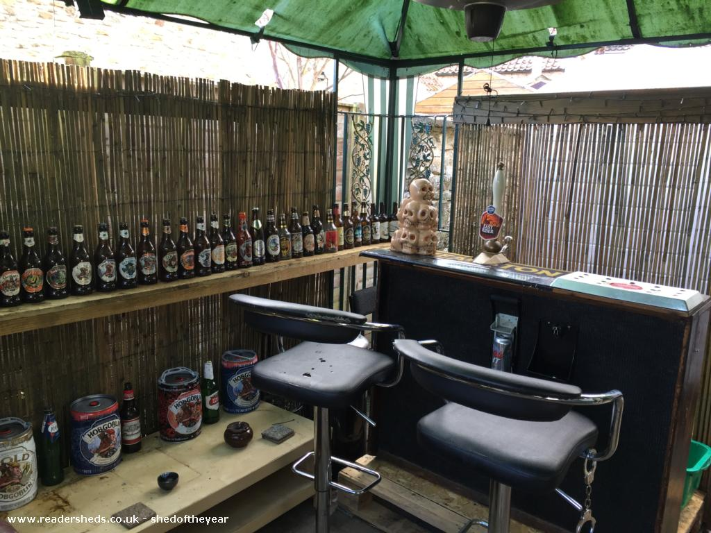 Photo of Skull lounge , entry to Shed of the year-Front