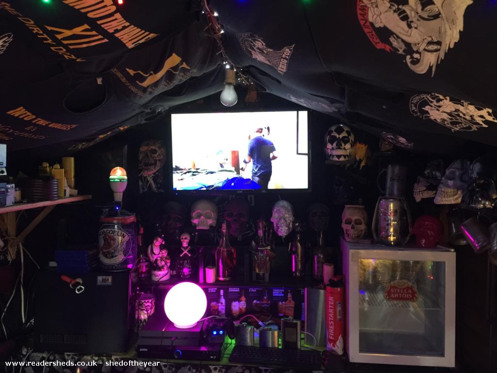 Photo of Skull lounge , entry to Shed of the year-TV