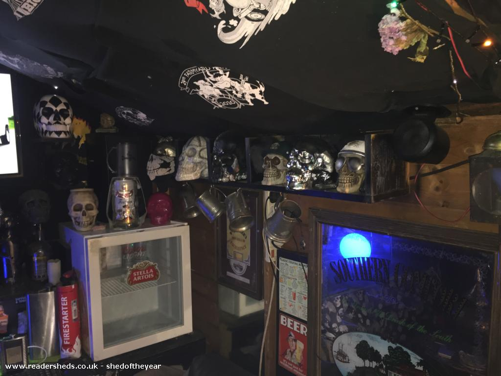 Photo of Skull lounge , entry to Shed of the year-Skullcap