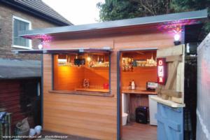 bennys bar - ben blackburn - back garden