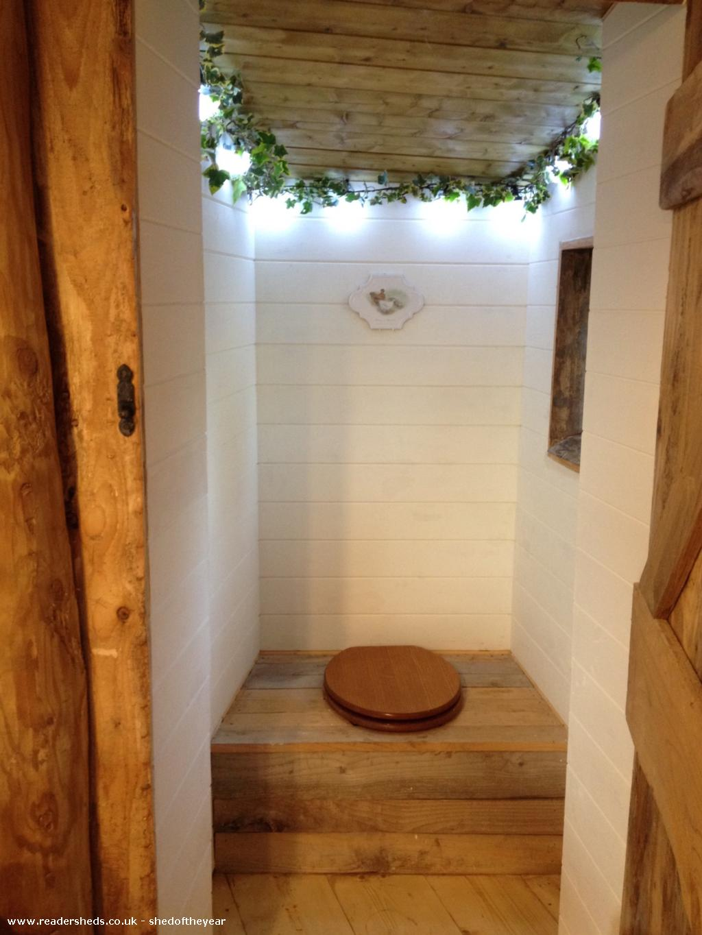 Photo of Hobbit House, entry to Shed of the year-The Loo