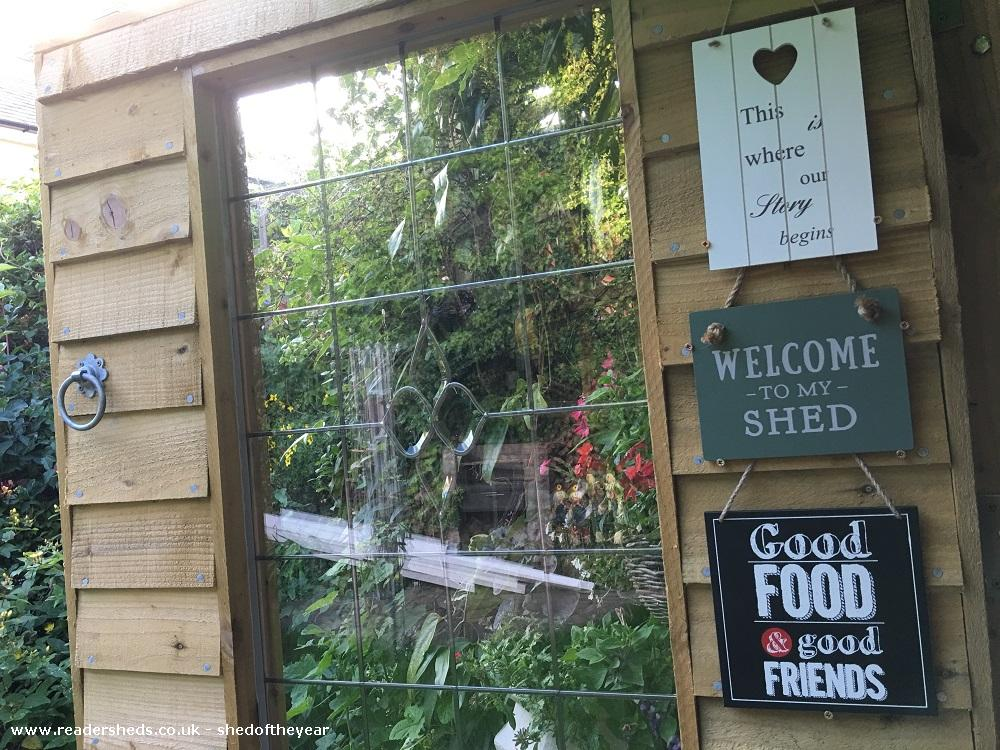 Photo of Love Shack Argentum, entry to Shed of the year-Main door