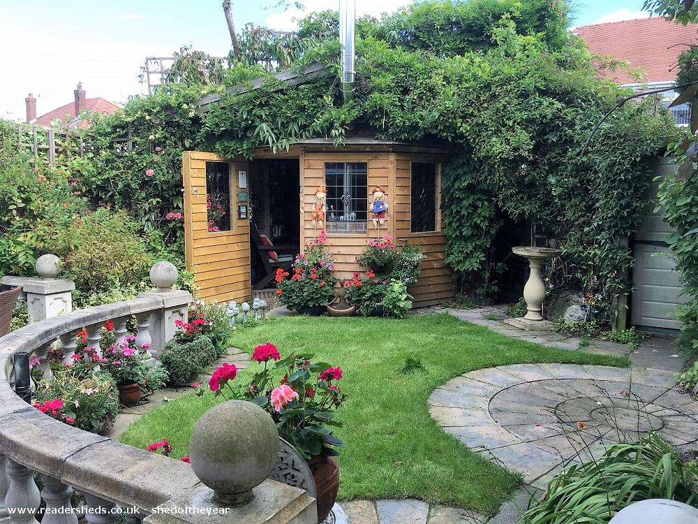 Photo of Love Shack Argentum, entry to Shed of the year-View from garden main door open