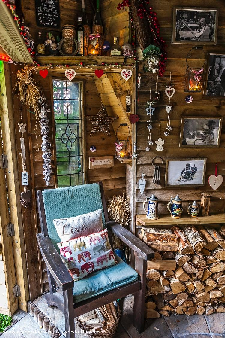Photo of Love Shack Argentum, entry to Shed of the year-View internal by main door