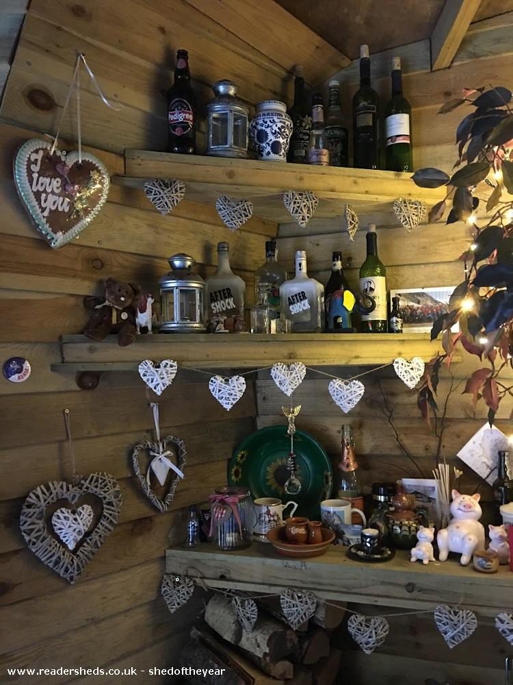 Photo of Love Shack Argentum, entry to Shed of the year-Internal