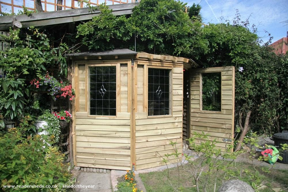 Photo of Love Shack Argentum, entry to Shed of the year-Second stage front exterior cladding