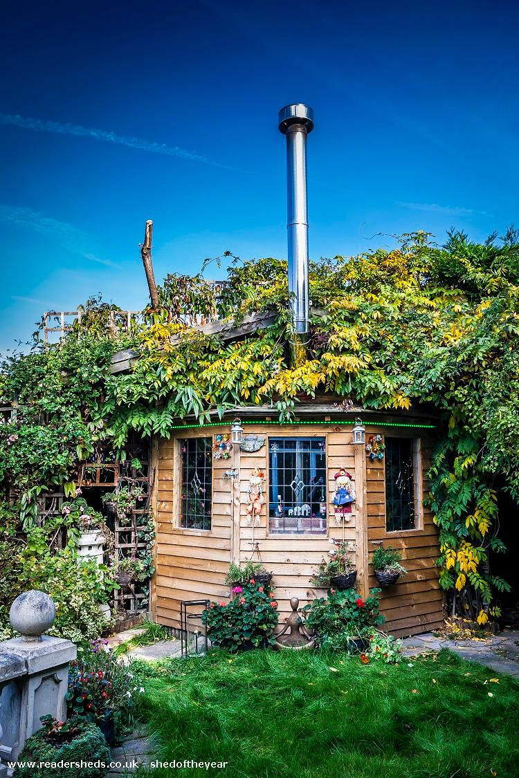 Photo of Love Shack Argentum, entry to Shed of the year-Autum garden view hope you like it