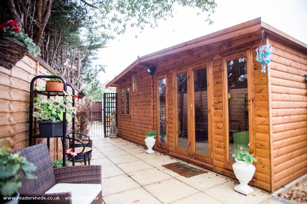 Photo of Tanzanite Blue Holistic Centre, entry to Shed of the year