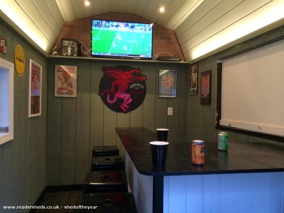 Photo of Kelt & Kraut Pub Shed, entry to Shed of the year