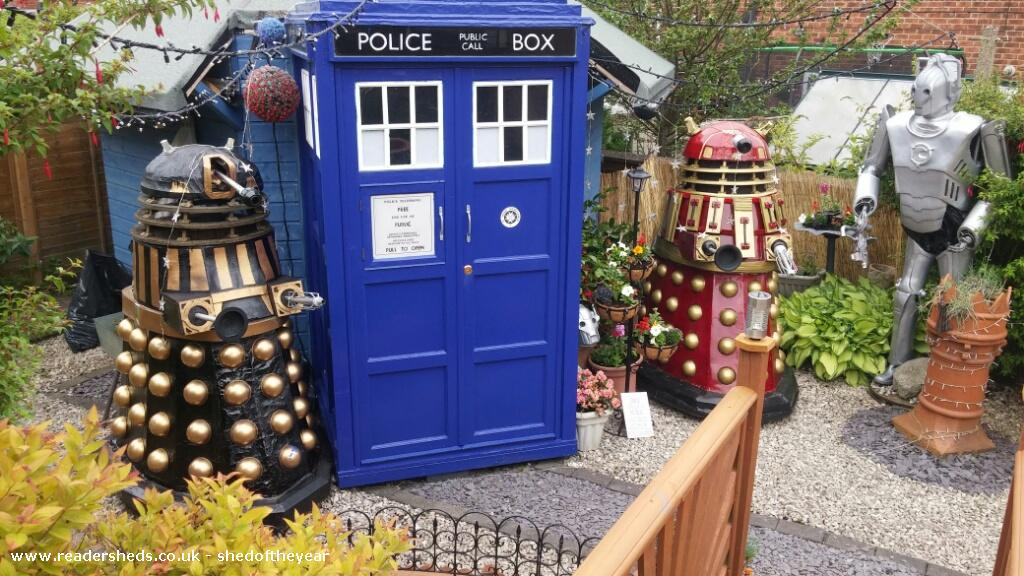 Photo of Tardis , entry to Shed of the year-front