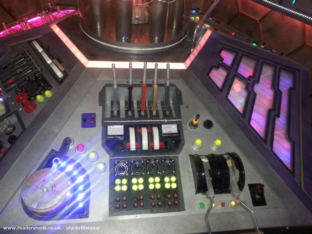 Photo of Tardis , entry to Shed of the year-Tardis console 3