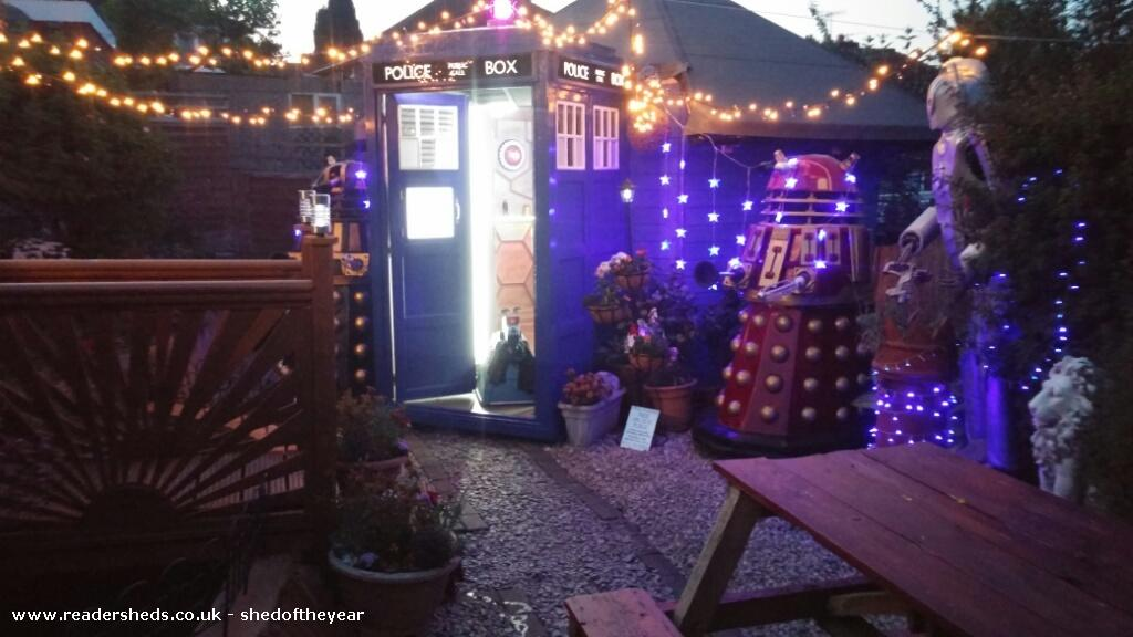 Photo of Tardis , entry to Shed of the year