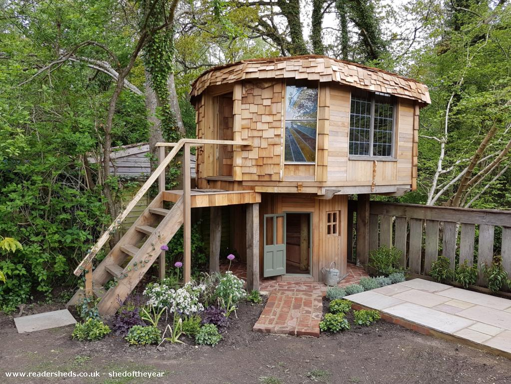The Mushroom Shed Cabin Summerhouse From Garden Owned By