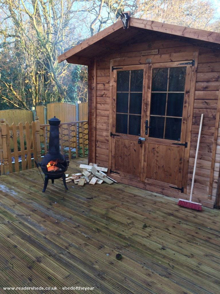 Corrigans Bar Cabin Summerhouse From Timperley Owned By